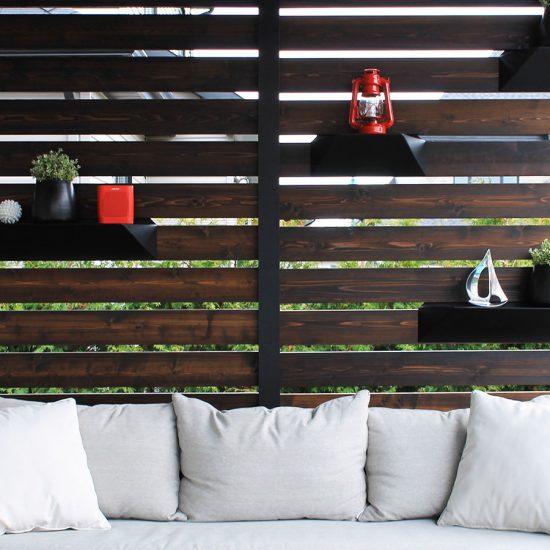 Panneau en bois pour résidentiel - Clôture Solival