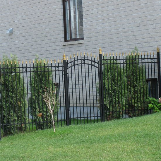clôture ornementale
