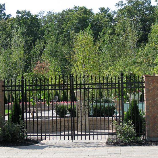 portail ornemental
