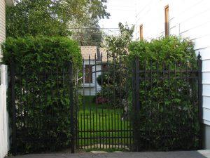 grille jardin