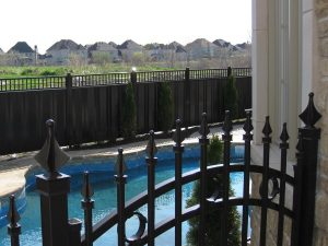 clôture intimité acier