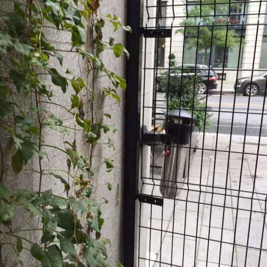 Cloture-Omega-Noir-Commercial-Porte-Cloture-Solival