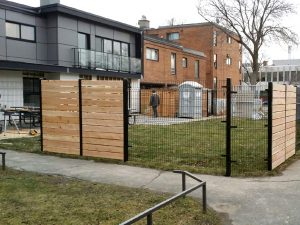 clôture omega entreprise